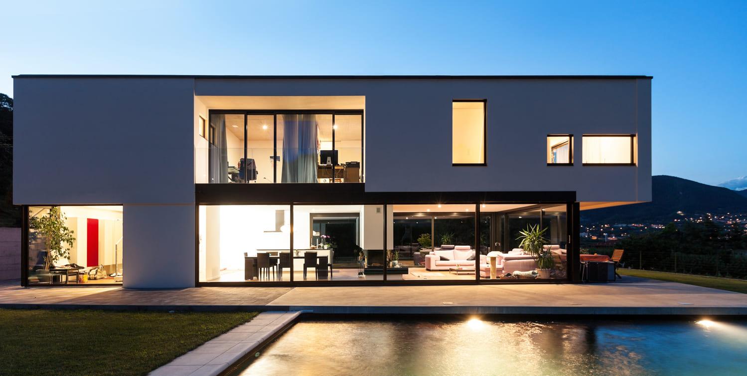 Maison Toit Plat Moderne Contemporaine Prix Constructeur De