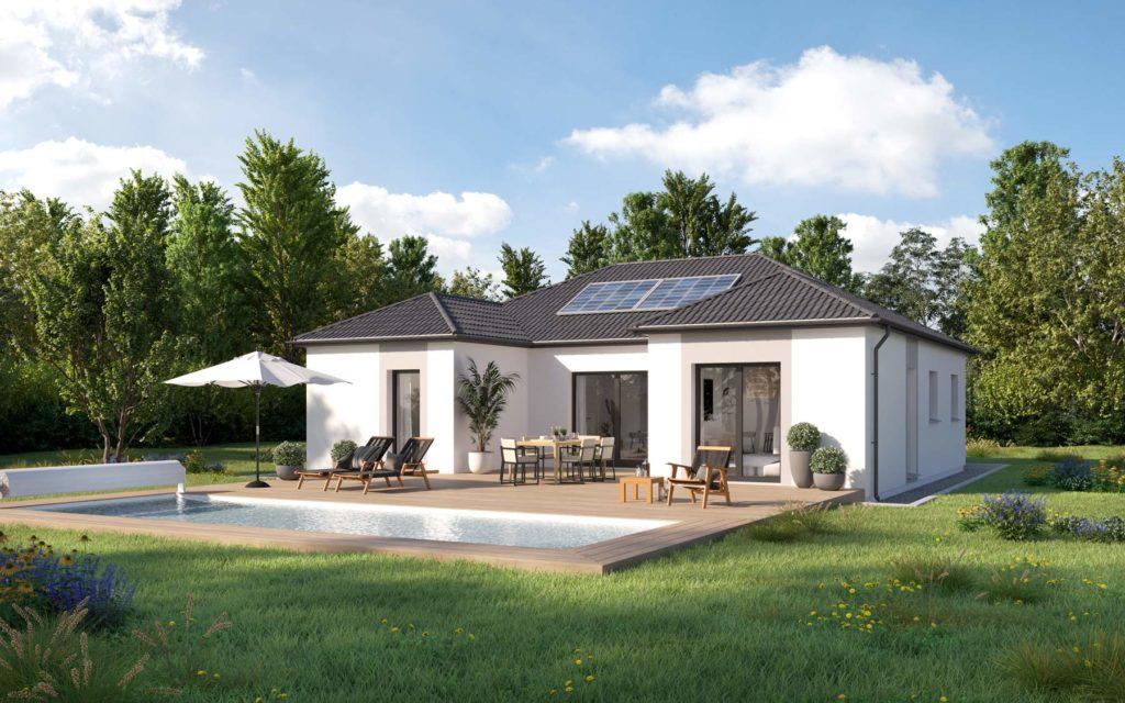 Modèle maison design